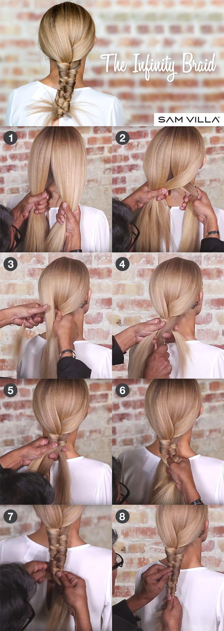 How to create an Infinity Braid by Sam Villa