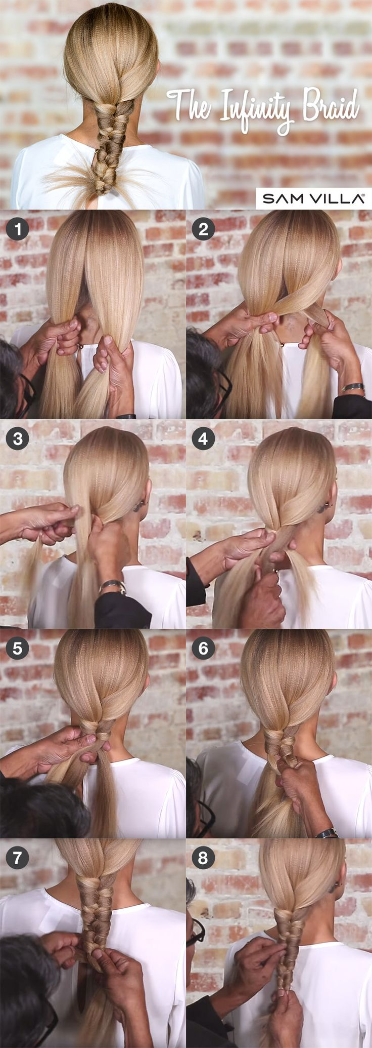 How to create an Infinity Braid by Sam Villa