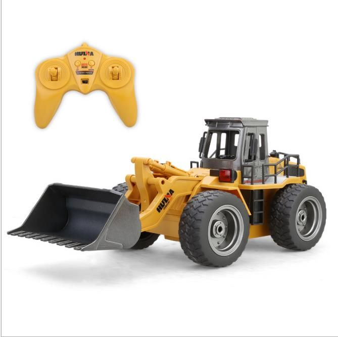 HuiNa Toys 1520 Six Channel 1 14RC Metal Bulldozer Charging RC Car model toys for kids. Click visit to buy #RemoteControl #Car