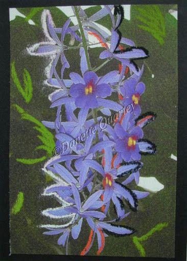 Crazy Card; Blue Droop