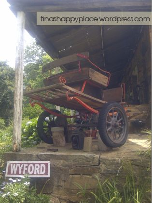 Wyford Farm used to be a trade post for ox wagons many many years ago