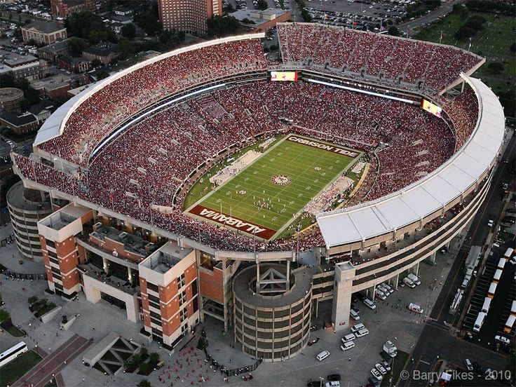 Bryant Denny stadium - A great place to watch a great football team.
