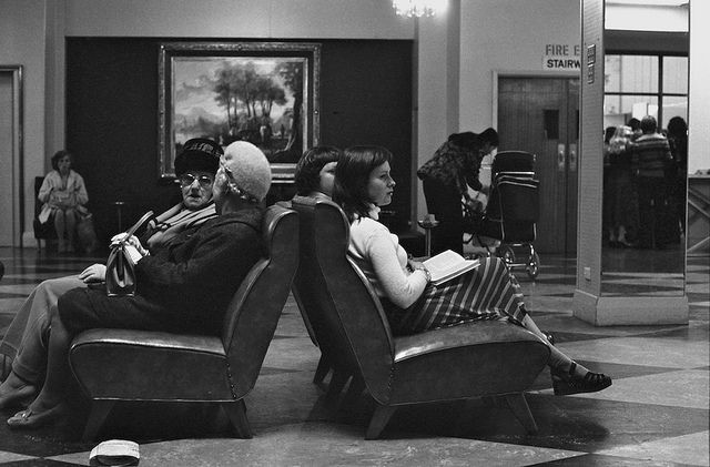 Myer ladies lounge 1976. by David Wadelton (Northcote Hysterical Society) Melbourne Australia