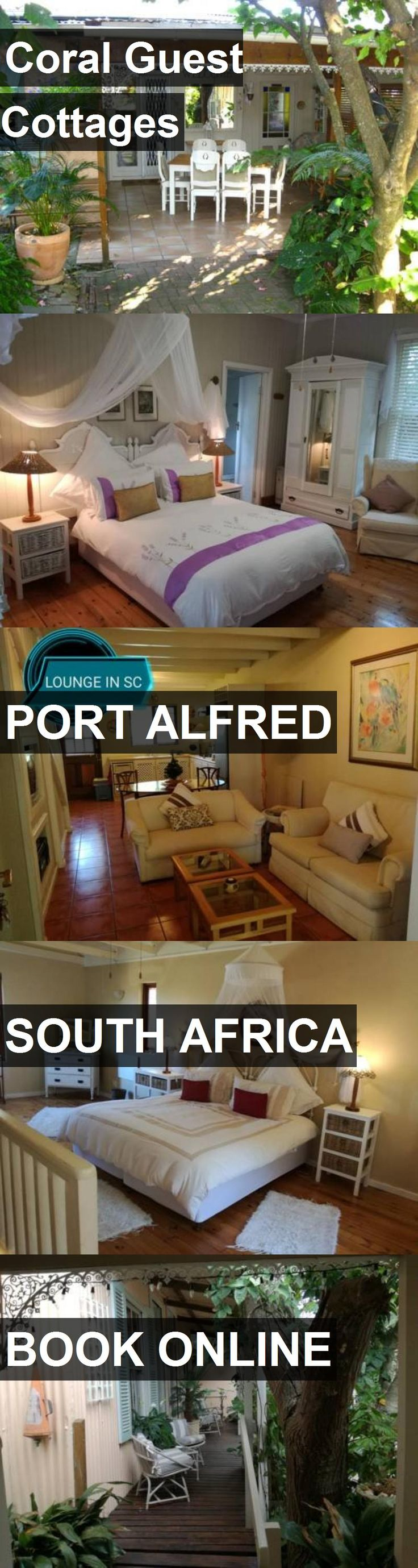 Hotel Coral Guest Cottages in Port Alfred, South Africa. For more information, photos, reviews and best prices please follow the link. #SouthAfrica #PortAlfred #travel #vacation #hotel