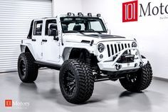 2015 Jeep Wrangler Unlimited Sport | Bright White / Custom Leather | 101 Motors Media