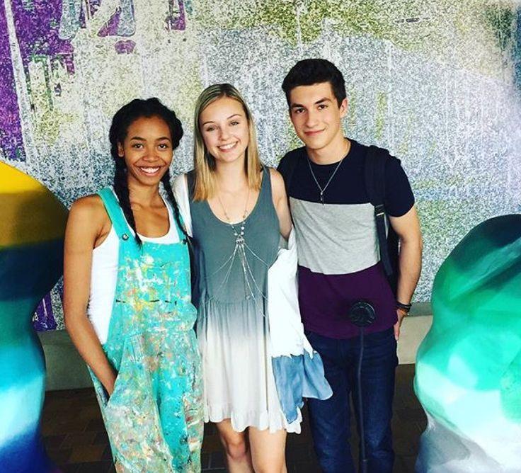 Julie,Alya, and Miles (Kyal,Aviva,and Josh)