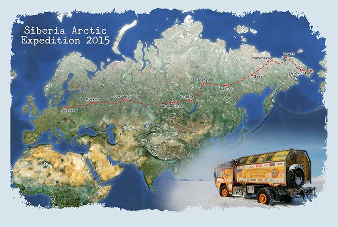 KIM Sp. z o.o. Wszystko na remont, Wszystko na budowę - KIM partnerem Siberia Arctic Expedition 2015
