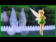 DIY-ALAS DE HADA CAMPANILLA/TINKERBELL/CARNAVAL/HALLOWEEN - YouTube