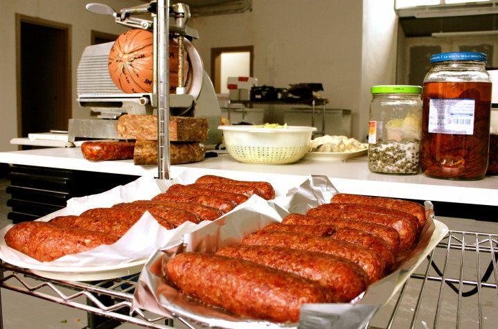 Osteria 2.0 - Prima Edizione, 2010. Il buon cibo, l'altro protagonista della serata insieme alla tecnologia.