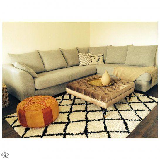 Sommarprojekt: bygga ett soffbord/fotpall
