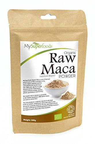 UK's BEST Maca Powder (300g) | Money Back Guarantee if Not Delighted | 100% Pure Organic Maca| Specially Imported from One of the Highest Quality Maca Producers in the World | Superior Nutritional Profile to Other Brands | Highest Quality Available on Amazon | Certified Organic By the Soil Association | 300g Resealable Eco-Friendly Pouch | FREE Delivery!