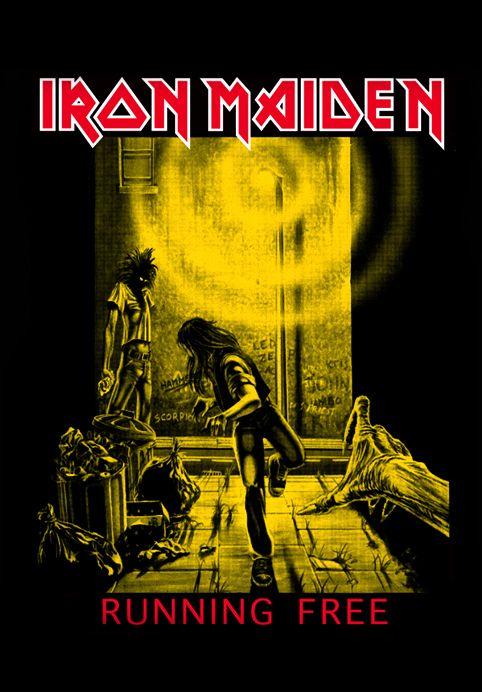 Iron Maiden ~ Running Free