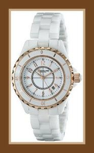 Stuhrling Original Ceramic Watches For Women 530.114EW3 Leisure Glamour Quartz White  These Ceramic Watches For Women are 16k rose gold-layered, has a mother-of-pearl dial, and a protective mineral crystal dial window. http://theceramicchefknives.com/ceramic-watches-women/