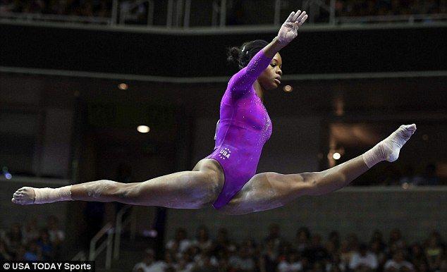 Olympic gymnast Gabby Douglas' training regime is INTENSE