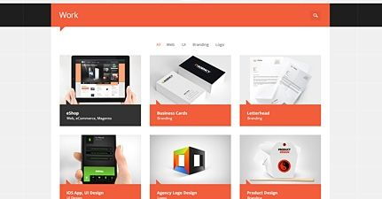 Best for a firm or agency website