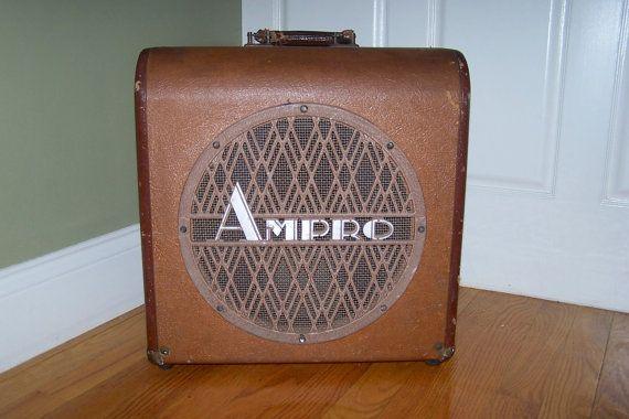 Vintage 1950s Ampro Speaker Cabinet Vintage By