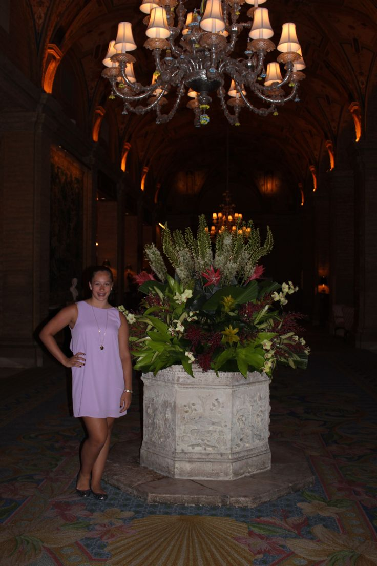 The Breakers Lobby and Me!!!