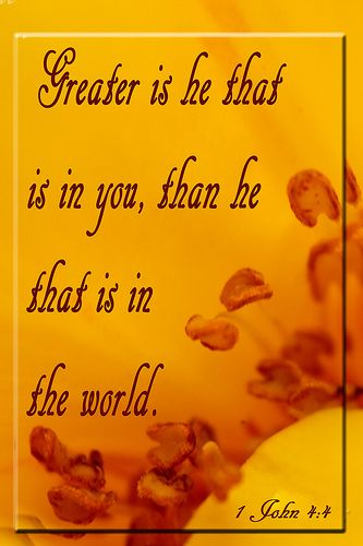 """""""God is not greater if you reverence Him, but you are greater if you serve Him."""" ~ Augustine"""