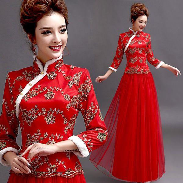 Gaya rambut mandarin style dress