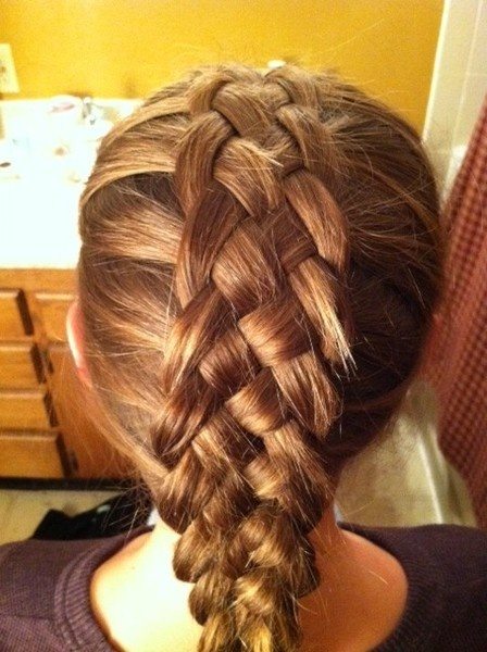 5 strand braid on @Christy Jahns hair-and-nails