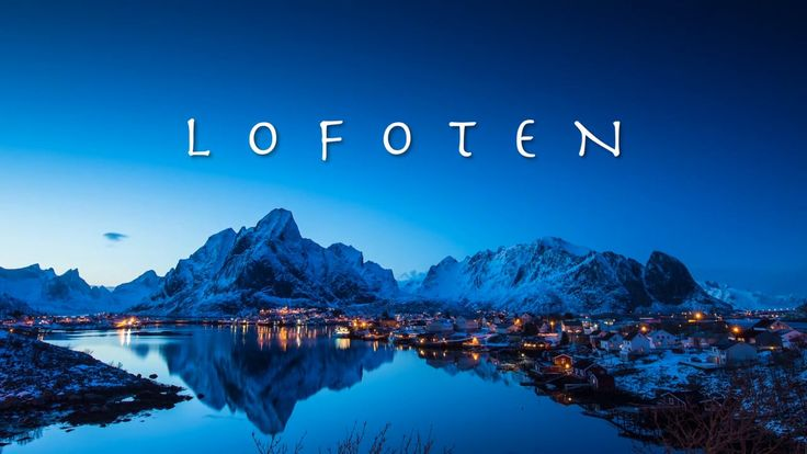 Lofoten - A timelapse postcard granad sein Block!
