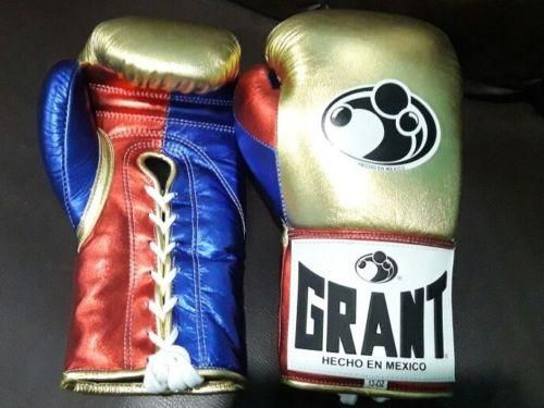 BOXING GLOVES GRANT PURE COWHIDE LEATHER 10 To 16 OZ