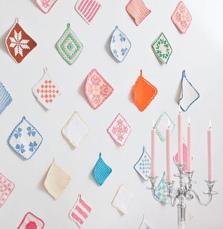 Interior: crochet pot holders