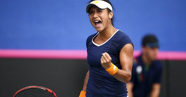 2/7/16 The Belgium Hub  · Heather Watson warns Belgium will pose a greater threat in Fed Cup play-off after Great Britain ease past Georgia http://www.snsanalytics.com/fDxxy3