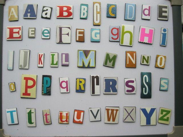 Alphabet Magnets £6.50