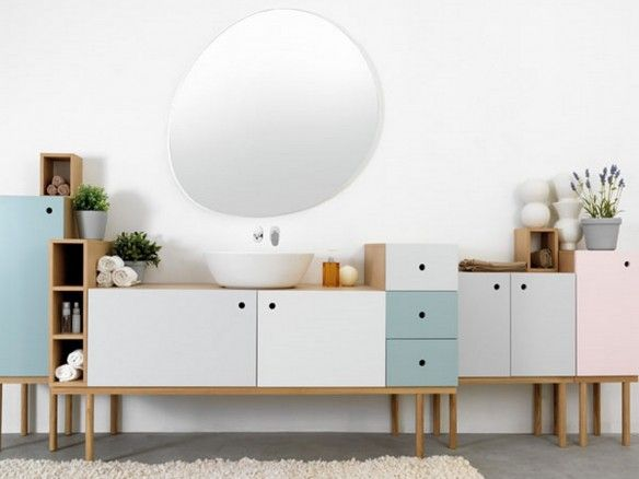 kuhles sideboard badezimmer groß pic der dfdbefeae simple bathroom pastel bathroom