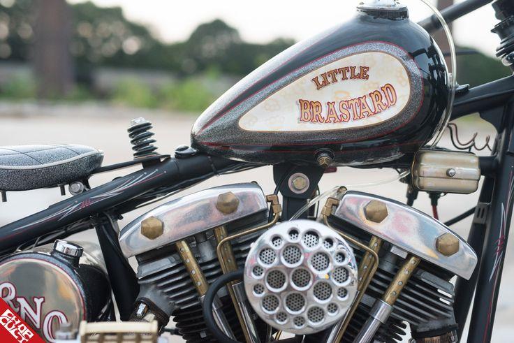 Rusty Nuts Originals Little Brastard Harley davidson