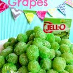 These Sour Patch Grapes are great for kids and very easy to make.