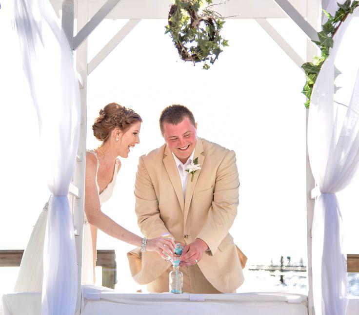 Stephanie &  Daniel's Sand Ceremony.