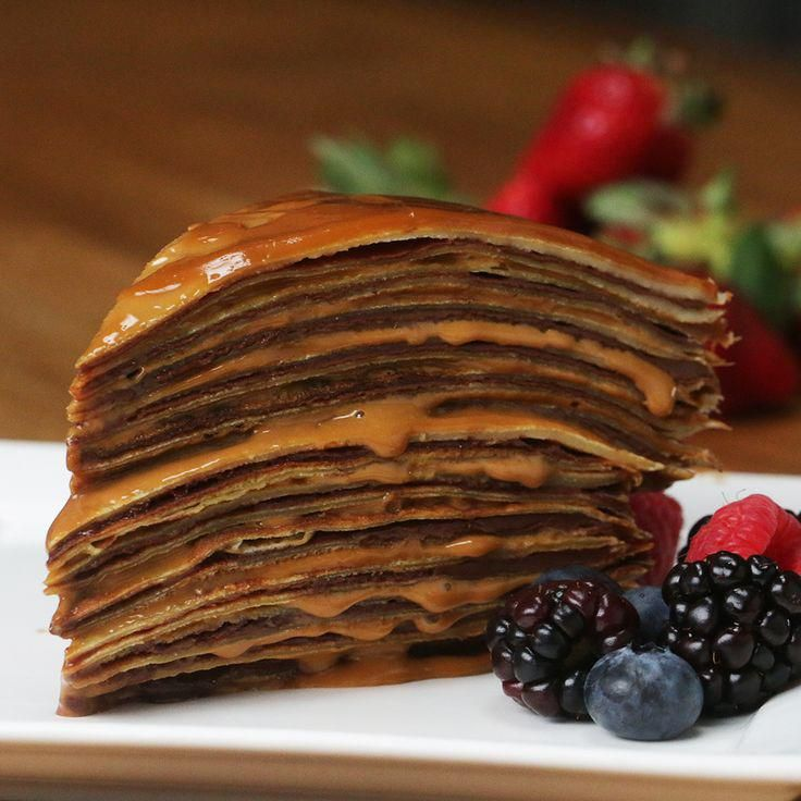 Tasty, Yummy Food, Pancakes, Baking, Breakfast, Desserts, Queso, Fast Recipes, Food Items