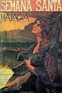 1922 Jose Ponce Fuente - SEMANA SANTA MALAGA