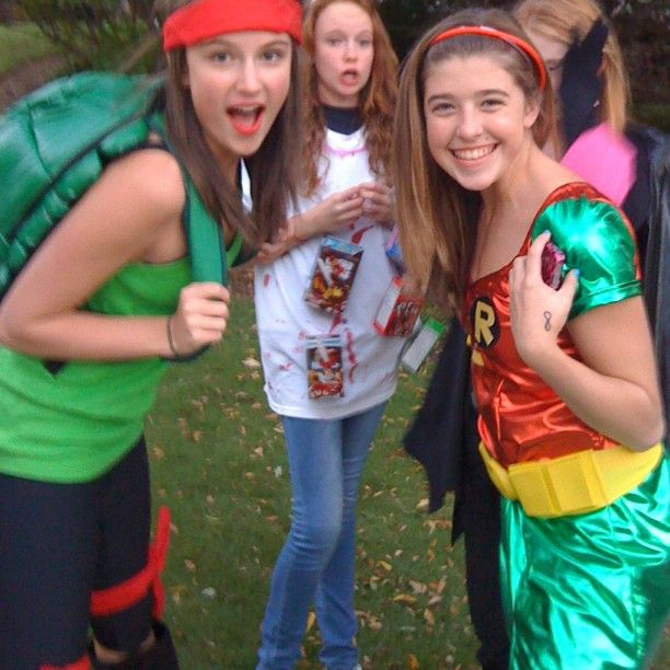 Me and my luv in our legit kick butt costumes. @keely_fischbach @cameron_holt