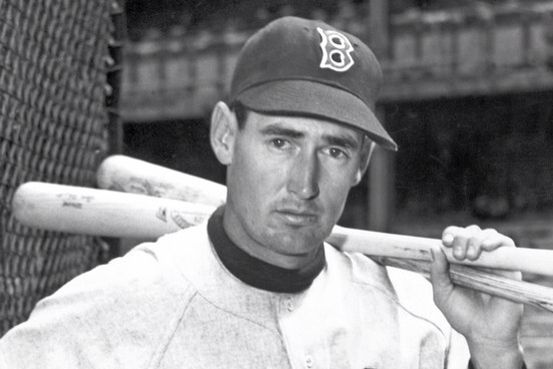 Ted Williams - a truly great Left Fielder