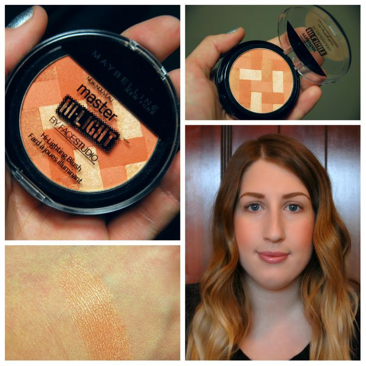 Maybelline Master Hi-Light by FaceStudio, Hi-Lighting Blush, No. 30 Coral, Review and Swatch