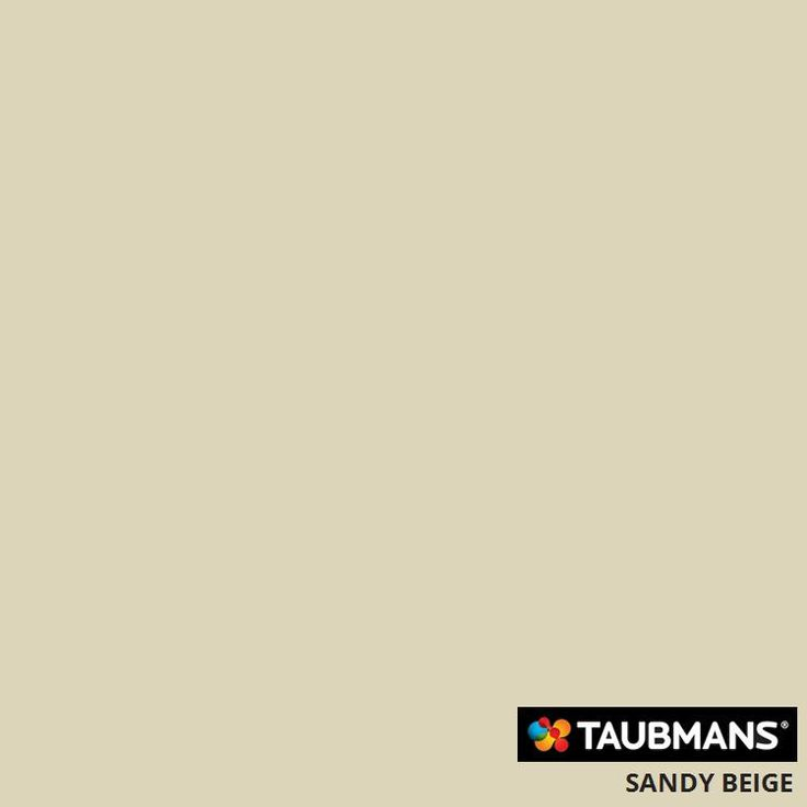 #Taubmanscolour #sandybeige