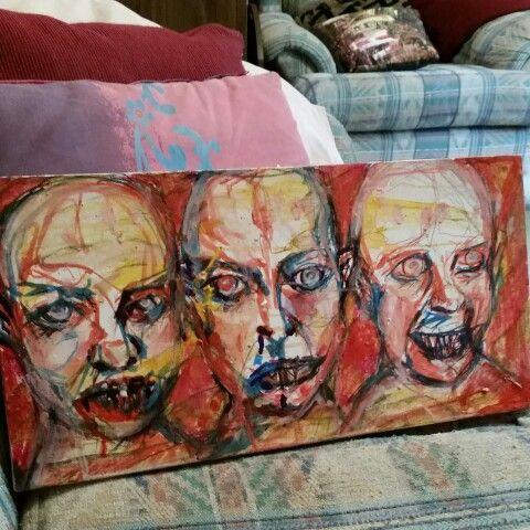 "Anne Schulz ""ghouls"" 2015"