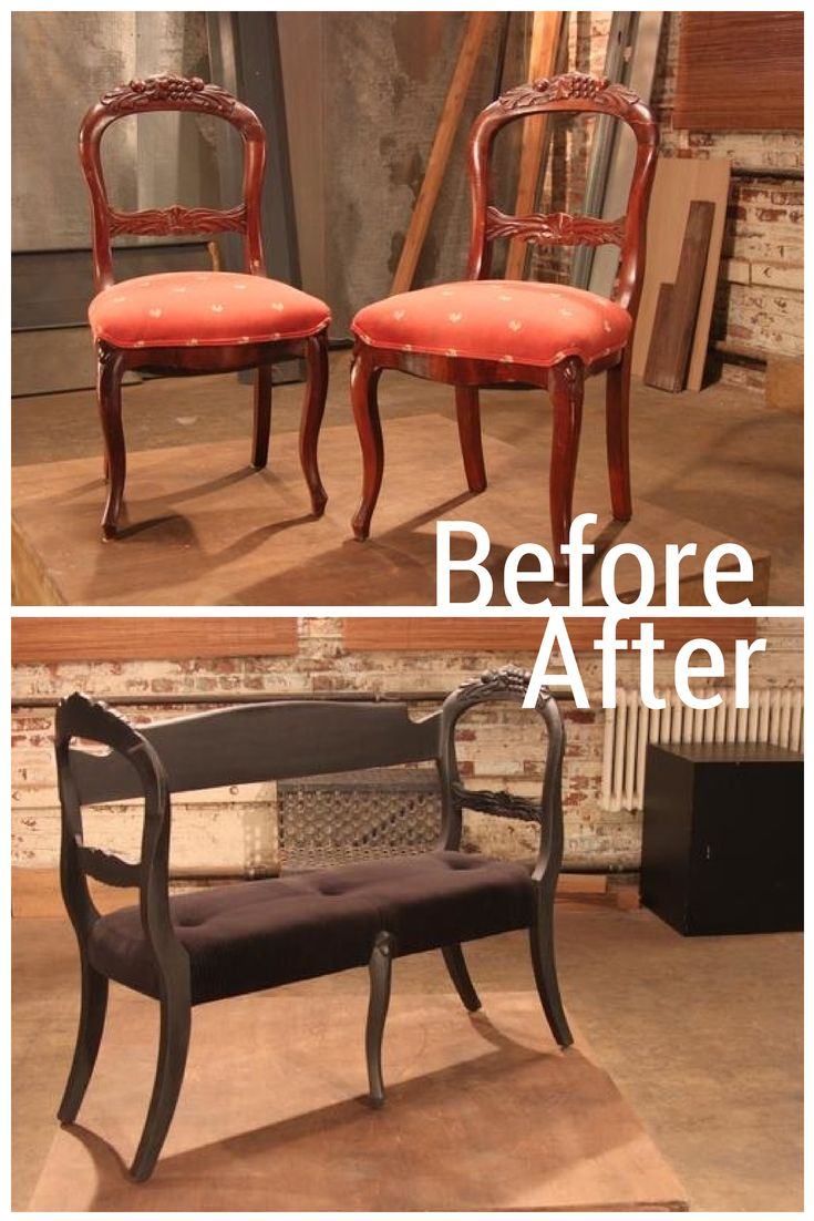 A Pair Of Chairs Become One Of A Kind Seating