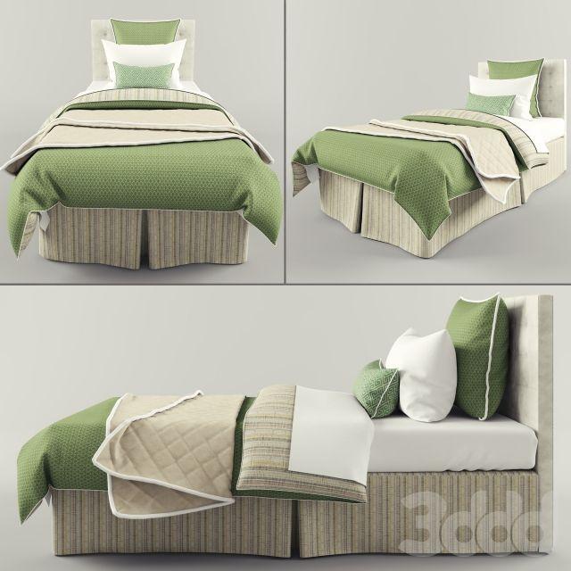 3d модели: Кровати - Детское постельное белье