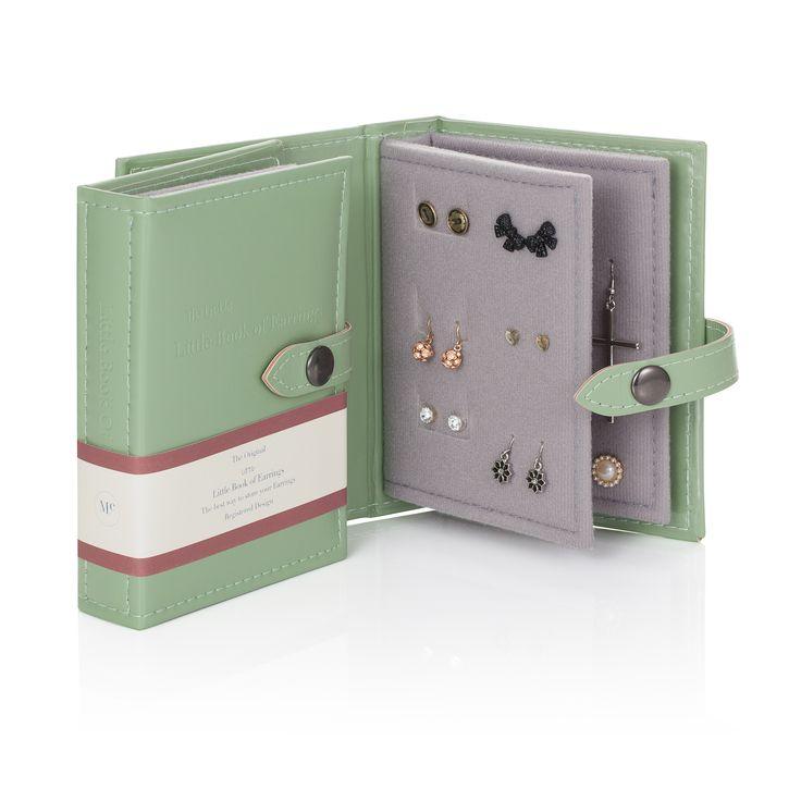 Little Book of Earrings - Green