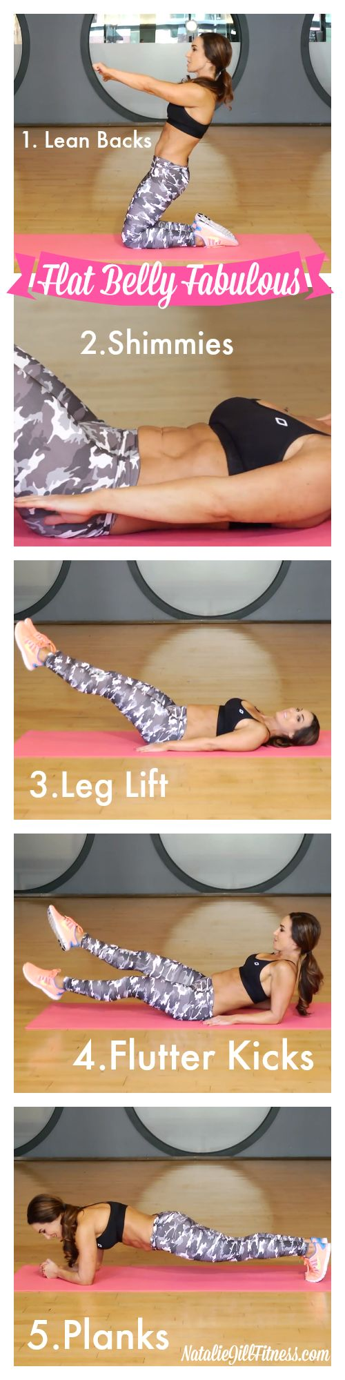FLAT BELLY here we come! Make sure to keep these in your flat belly arsenal! Click the image above for more of my FAVORITE moves!