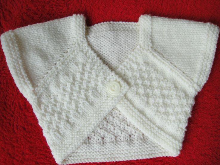 Caches coeur tricotés pour bébé d'un à 3 mois