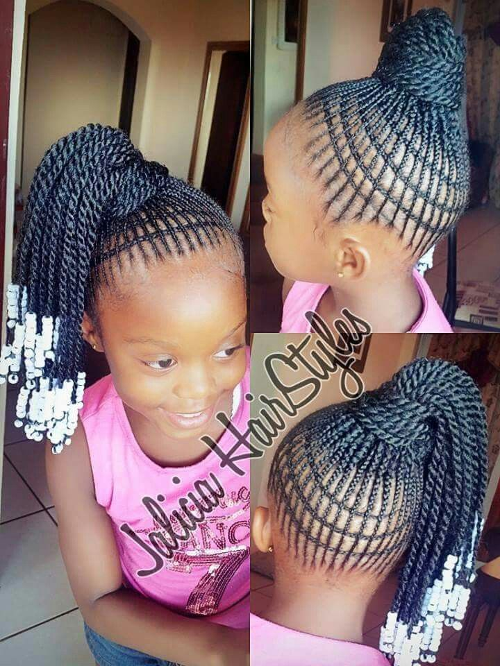 Awesome crazy braid design for little girls Cute Hair