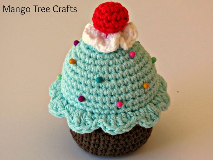 Crochet Cupcake Pin Cushion                                                                                                                                                     More