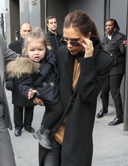 Victoria Beckham Baby Shower Part - 35: Victoria Beckham And Daughter Harper Have A Girls Day Out - Celebrity Baby  Scoop