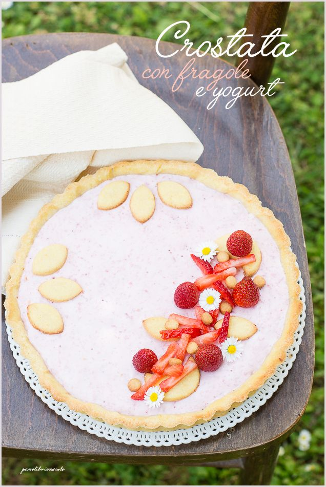 Strawberry Yogurt Tart
