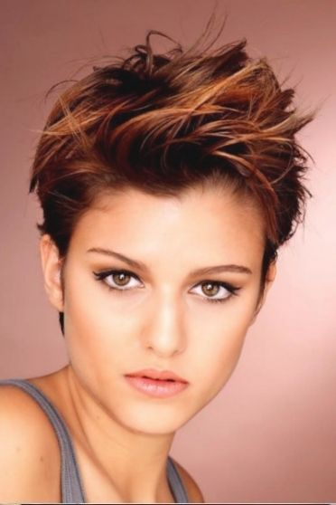 Frisuren Frauen Kurz Frech Haircuts Pinterest Short Hair